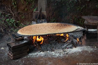 Galette de manioc ou cassave  - Guyane