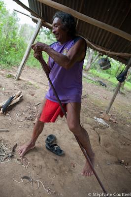 Bandage de l''arc wayampi - Guyane