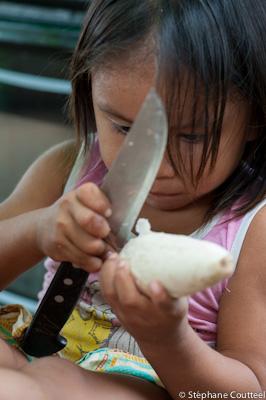 Meli et le long couteau -Guyane