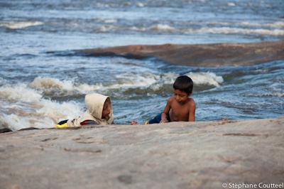 Enfants du fleuve - Guyane
