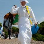 Arrivee d'une Ama - Mikazuki shinji - Kuzaki - Japon