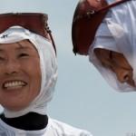 Portraits de Ama - Mikazuki shinji - Kuzaki - Japon
