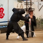 Demonstration de ninjutsu -Iga ueno - Japon