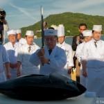 Thon a l'autel du sommet G7 - Toba - Japon