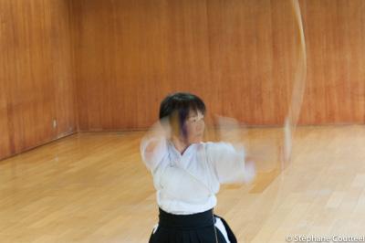 Mouvement et stabilite Uchiokoshi -  - Kyudo - Kyoto - Japon