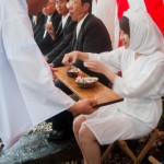 Awabi et sake pour communion divine - Shirongo matsuri - Sugashi