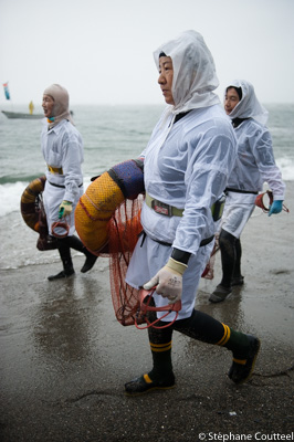 Tenue traditionnelle du Shirongo matsuri - Sugashima - Japon