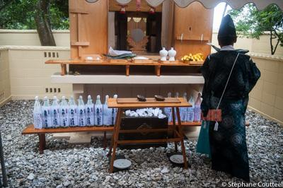 Shirohige jinja shrine - Shirongo matsuri - Sugashima - Japon