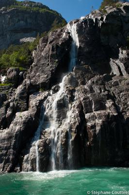 Cascade - Lysefjord - Norvege
