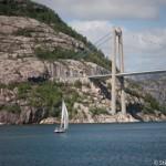 Fjord a la voile - Lysefjord - Norvege