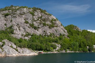 Cabane de fjord - Lysefjord - Norvege