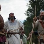 Les archers du Festival viking - Avaldsnes Karmoy - Norvege