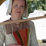 Tricote main au Festival viking - Avaldsnes Karmoy - Norvege