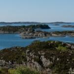 Une cote tres decoupees - Fjord d'Haugesund - Norvege