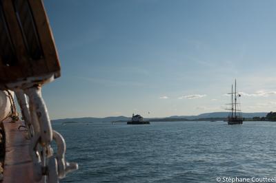 Croisiere dans le Fjord d' Oslo - Norvege