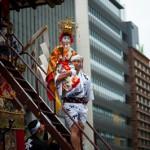 Chigo l'enfant sacre du Naginata Hoko -Gion matsuri - Kyoto - Ja