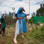 Archere au Festival viking - Avaldsnes Karmoy - Norvege