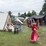 Le chaperon rouge du Festival viking - Avaldsnes Karmoy - Norveg