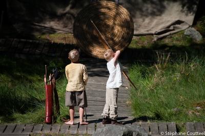 Archers en herbe - Festival viking - Avaldsnes Karmoy - Norvege