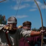 Tir au longbow - Festival viking - Avaldsnes Karmoy - Norvege