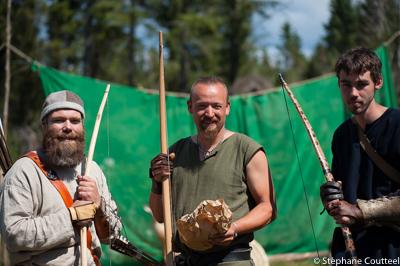 Podium du Festival viking - Avaldsnes Karmoy - Norvege