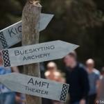 Flechage - Festival viking - Avaldsnes Karmoy - Norvege