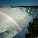 Arc en ciel au Niagara falls   -  Canada