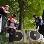 Quelques fosses - Championnat de France tir campagne par équipe - St Avertin