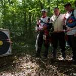 Une volee a 43 points - Les archers de Ste Geneviève des bois pour la 10eme place