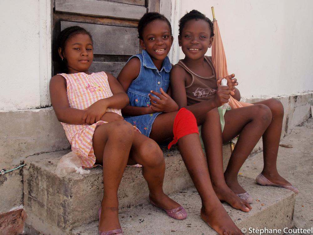 Petites filles - La Dominique
