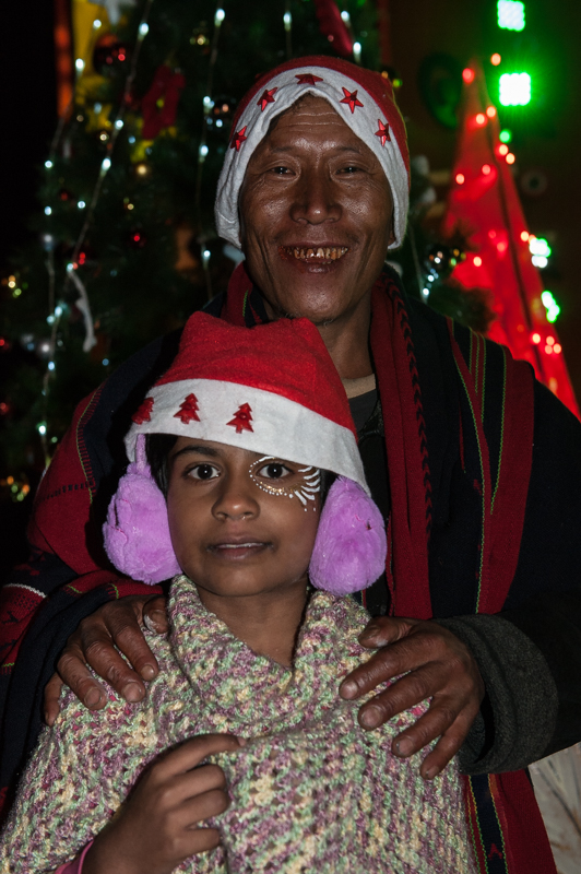 Les indiens du Nagaland sont chrétiens