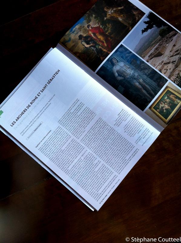 Article historique sur Rome et St Sébastien