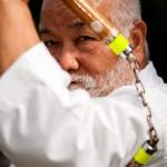 Masahiro Nakamoto icone du patrimoine culturel vivant Okinawa