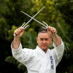Mamoru Nakamoto expert maniement du sai et  maitre du parc