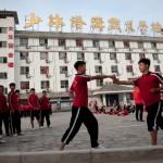 Jeunes eleves Kung fu Shaolin de l'ecole Tagou - Dengfeng